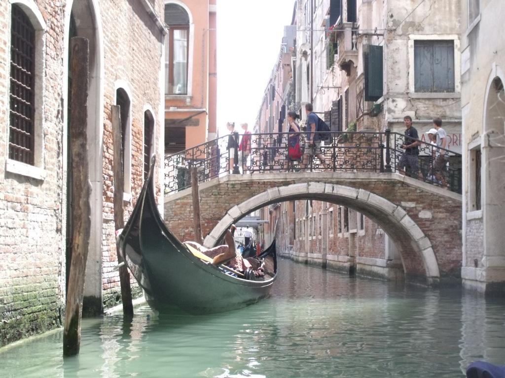 Gondola on a Venice canal