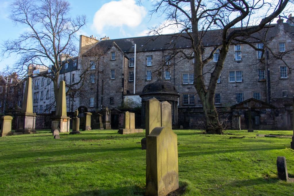 greyfriars kirkyard edinburgh scotland
