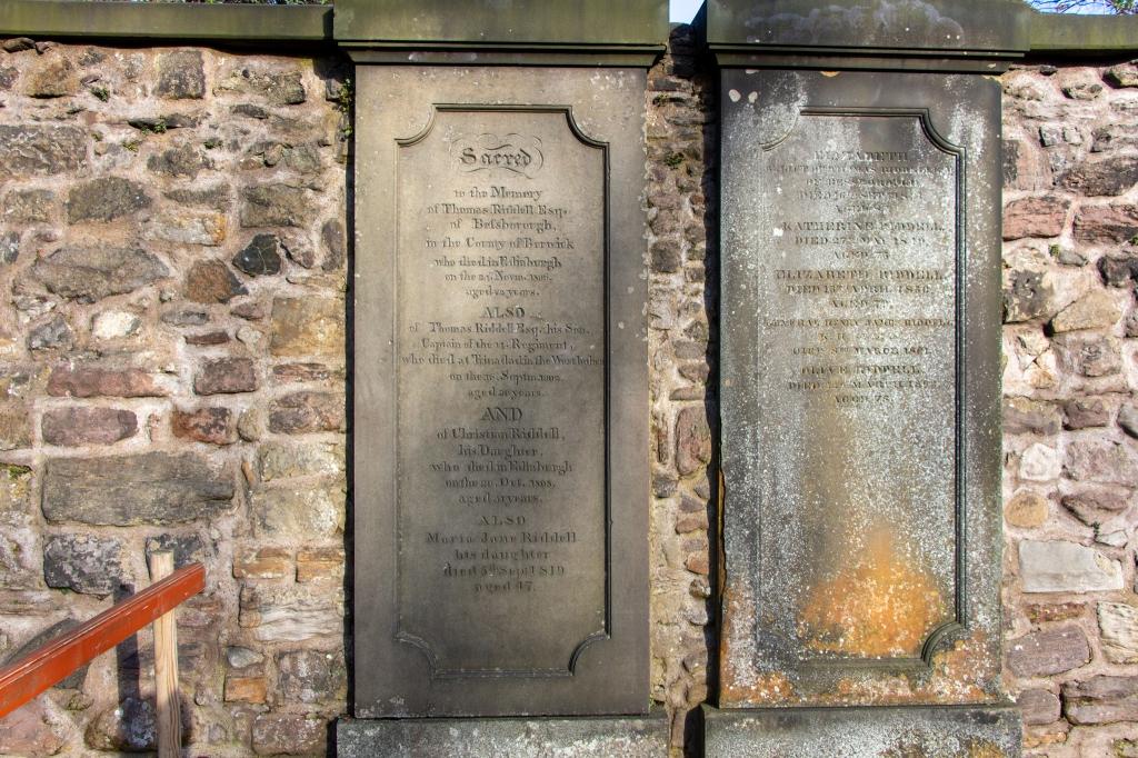 Greyfriars Kirkyard Edinburgh Thomas Riddle